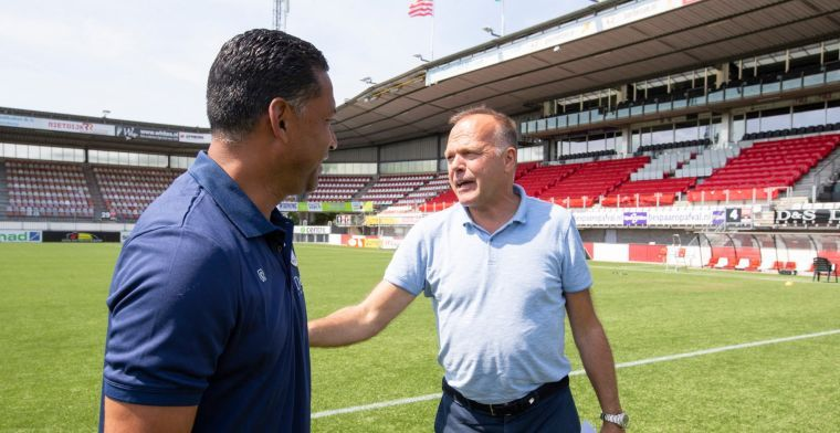 Sparta eens met KNVB, maar: 'Als de Eredivisie stopt, moet dit de eindstand zijn'