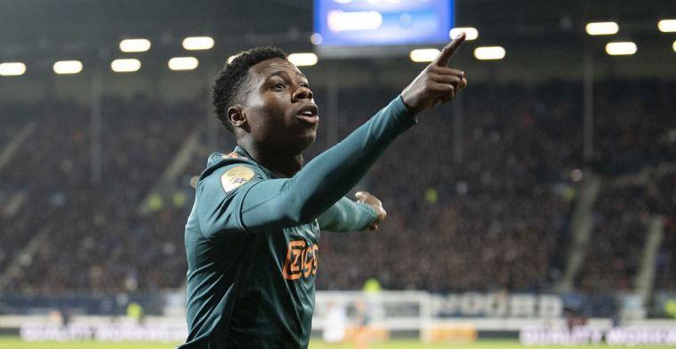 Promes: 'Geef het niet de schuld van mijn vertrek bij Ajax, maar had wel invloed'