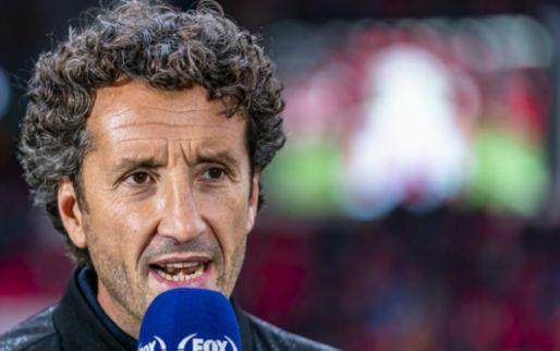 Afbeelding: Taart in het gezicht bij Van Gangelen tijdens interview: