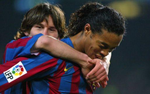 Afbeelding: Xavi lyrisch: 'Hij behoort tot beste spelers ooit, alleen Messi staat boven hem'