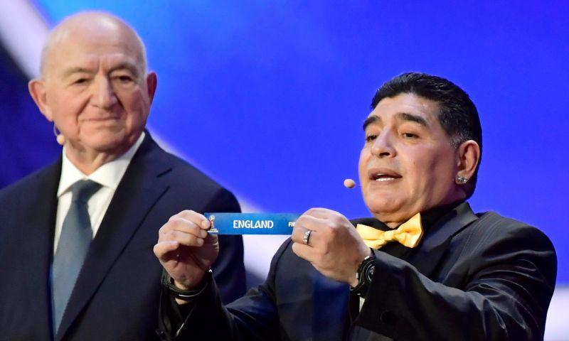 Afbeelding: Maradona scherp over loonsverlaging: