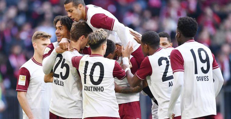 Bayern-spelers gescheiden in parkeergarage: thuis douchen, maaltijd mee naar huis