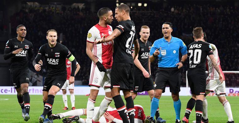 'Ajax is geen kampioen, er moet een beslissingswedstrijd tegen AZ komen'