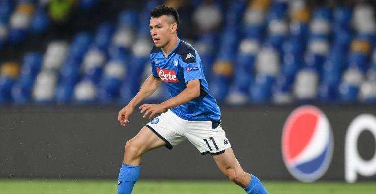 'Napoli wil ondanks coronacrisis en weinig speeltijd winst maken op Lozano'