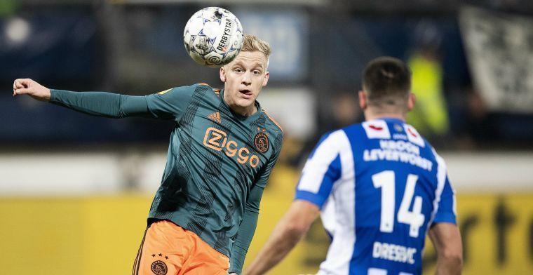 Van de Beek over Real-transfer: 'Ja-woord niet gegeven, gevoel moet goed zijn'