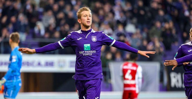Vlap wil zich via Anderlecht in de kijker spelen van bondscoach van Oranje