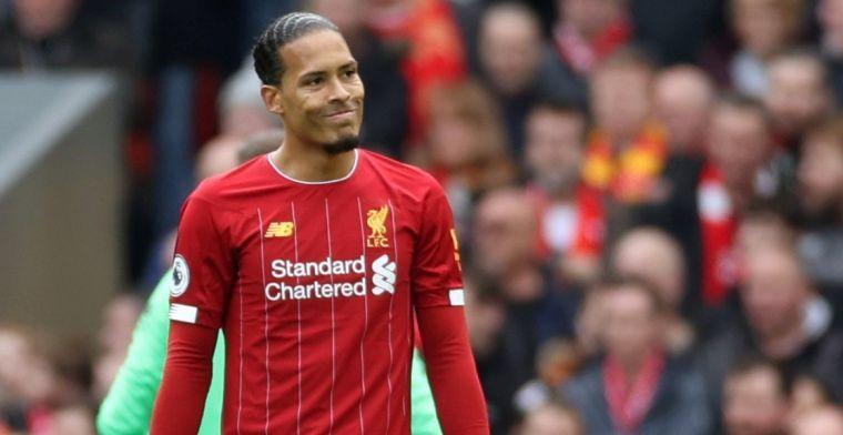 Van Dijk lijkt niet aan vertrek te denken: 'Ik wil een Liverpool-legende worden'