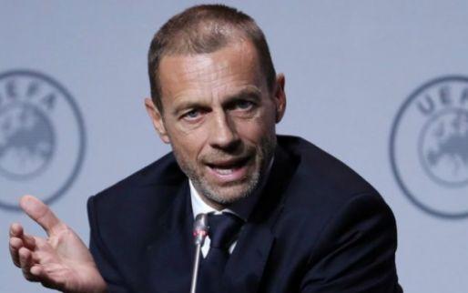 """UEFA-voorzitter Ceferin: """"Belgen beseffen dat ze verkeerd hebben gehandeld"""""""