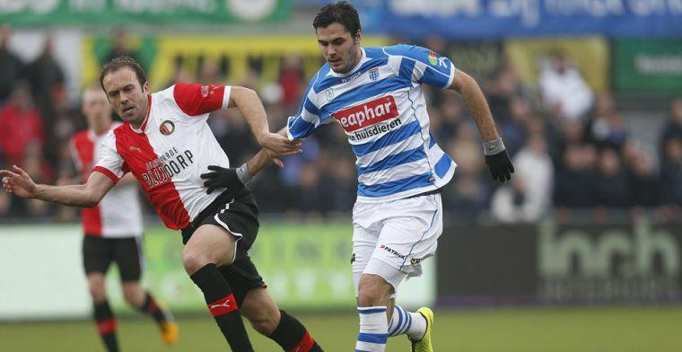 'Na het mooie jaar in Zwolle koos ik AZ, achteraf had ik bij PEC moeten blijven'