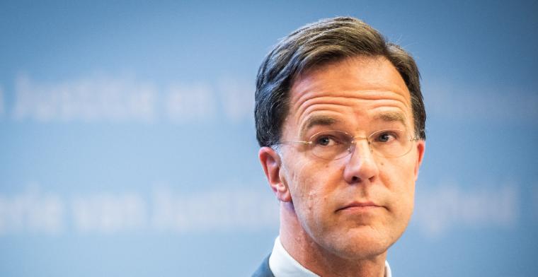Premier Rutte: 'Of trainen in mei al mag, is echt voor risico van de KNVB'