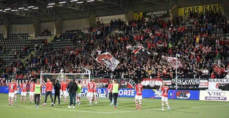 Meerderheid van fans hoeft geen compensatie: 'Die paar tientjes zijn voor de club'