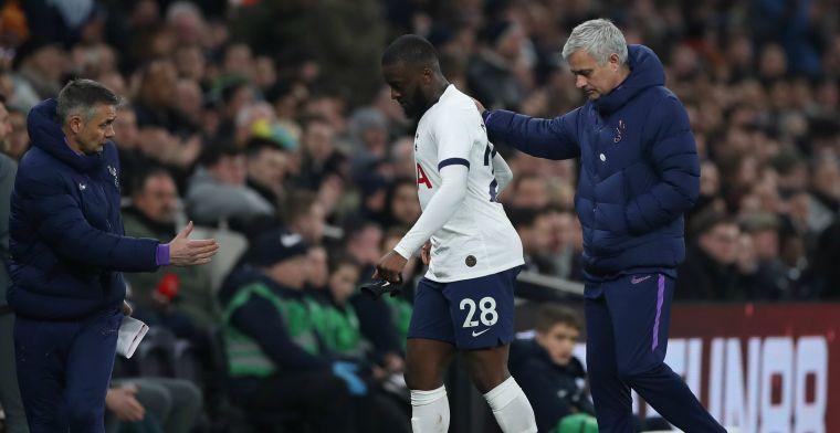 Mourinho en Tottenham-drietal 'betrapt' tijdens openbare training in het park