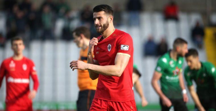 'Hoedt (Antwerp) zoekt club: management gooit lijntjes uit en belt met Italië'
