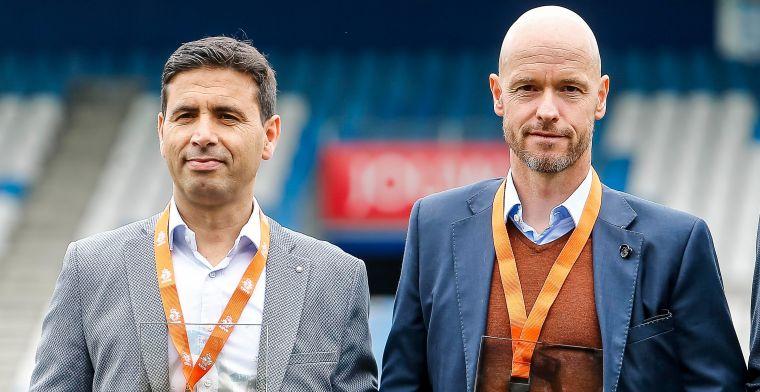 Ajax stoomt junioren klaar voor Ten Hag: Ajax 1 staat momenteel bovenaan