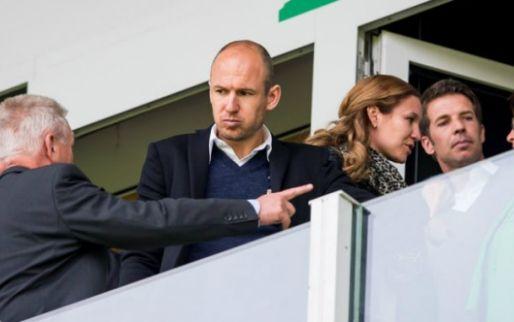 Robben wil met vrouw Ibrahimovic achterna: 'Ook groot maken in Nederland'