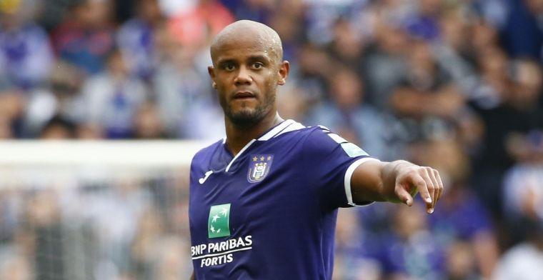 'Kompany kijkt naar Duitsland en wil met Anderlecht opnieuw trainingen afwerken'