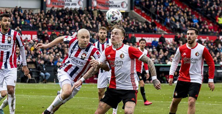 'We speelden tegen Feyenoord en de Zweedse bondscoach was er blijkbaar ook'