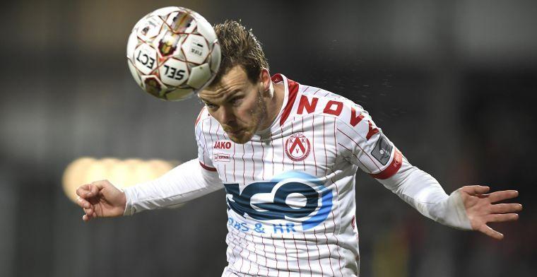 KV Kortrijk in de wolken met D'Haene: 'Beste linksachter van de competitie'