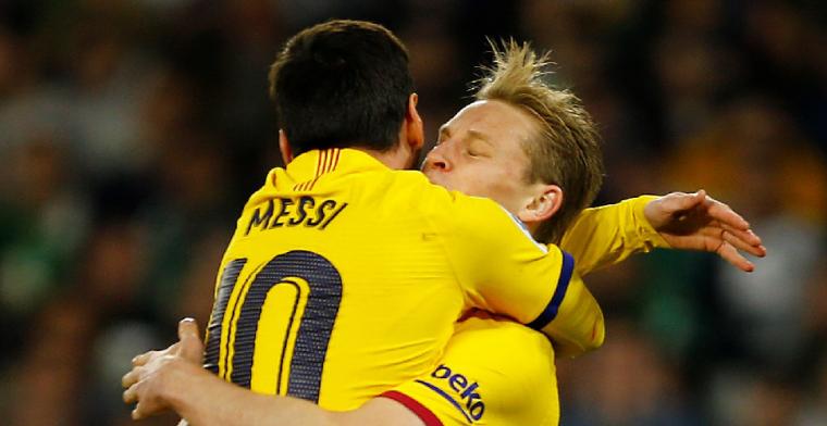 'Alleen Frenkie de Jong, Messi en Ter Stegen zijn veilig bij FC Barcelona'