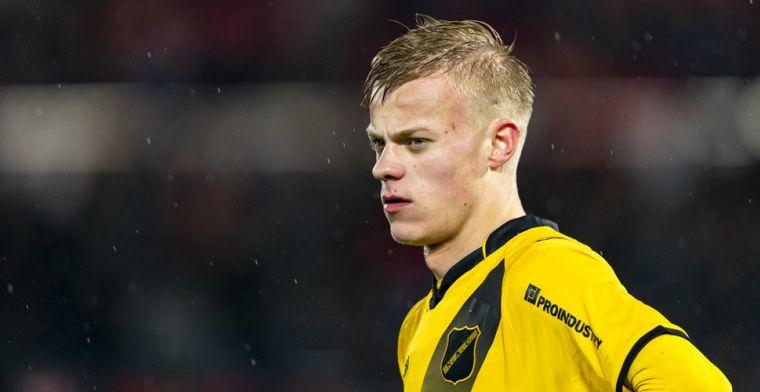 Eredivisie jaagt op NAC-parel: 'Brian Brobbey had moeite tegen hem'