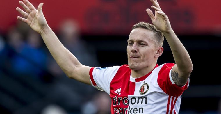 'Het is alleen maar goed dat hij nog een jaar langer bij Feyenoord wil blijven'