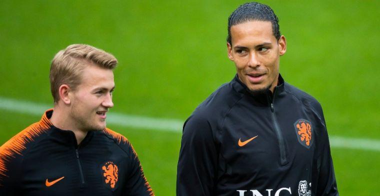 De Ligt ziet voordelen van Ajax-opleiding: 'Ik dacht: ik wil geen verdediger zijn'