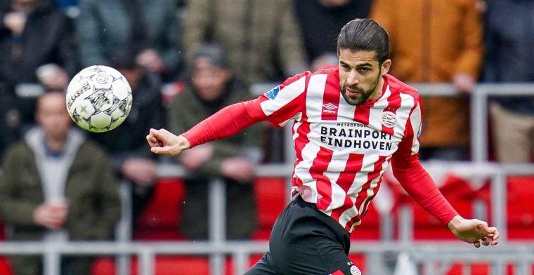 'Scheiding nabij: geen enkel contact tussen PSV en AC Milan over langer verblijf'