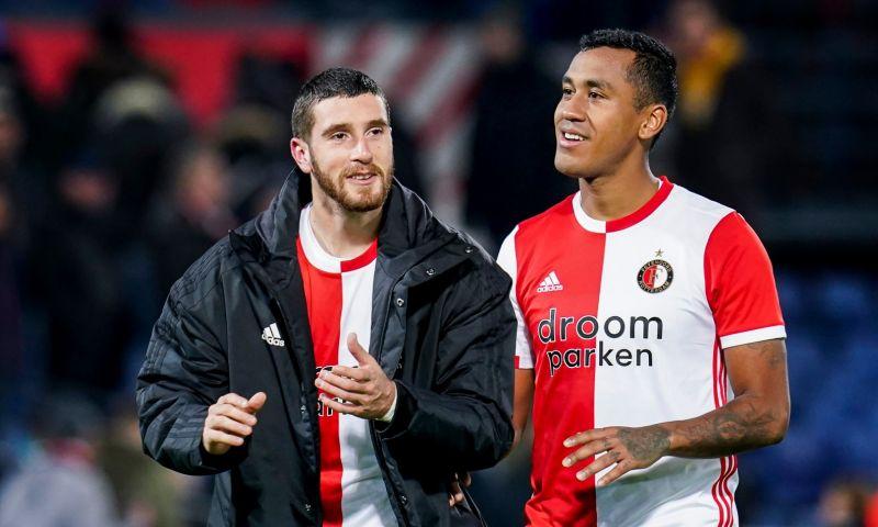 Afbeelding: Senesi praat met Feyenoord-maatje over vertrek: 'Hij is erg populair in Nederland'