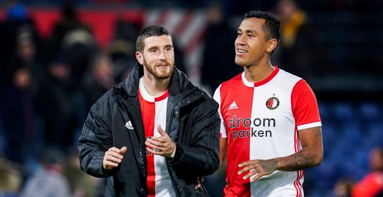 Senesi praat met Feyenoord-maatje over vertrek: 'Hij is erg populair in Nederland'