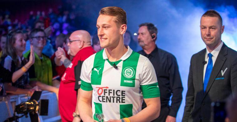 Hoofdprijs voor Sierhuis: Ze hadden me niet gehaald voor het tweede elftal