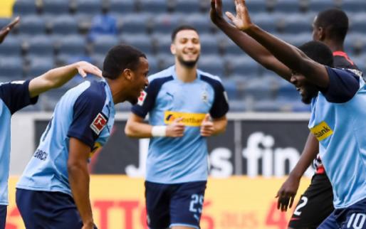 Afbeelding: Oppermachtig Gladbach haalt het makkelijk van Eintracht Frankfurt