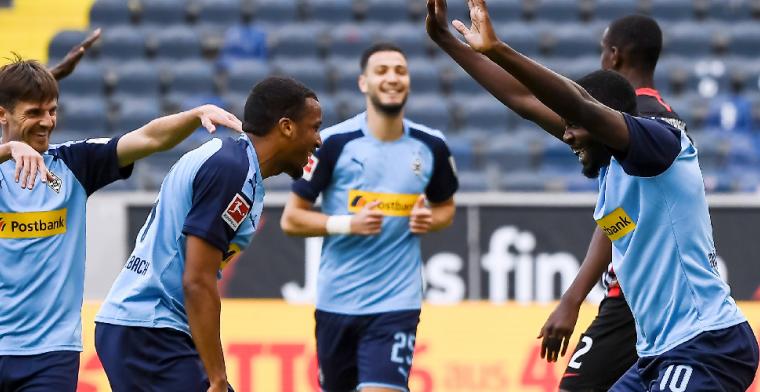 Oppermachtig Gladbach haalt het makkelijk van Eintracht Frankfurt