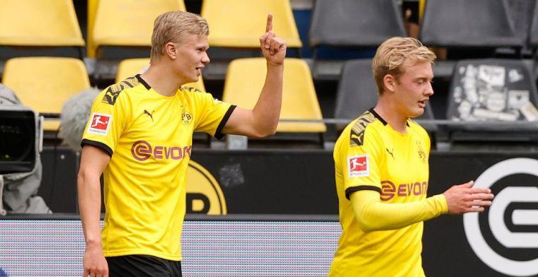 LIVE: Dortmund vernedert Schalke, Leipzig niet langs Freiburg (gesloten)
