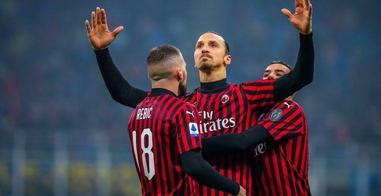 'Zlatan blijft niet bij Milan, maar afwachten of hij voor ons of Zweden kiest'