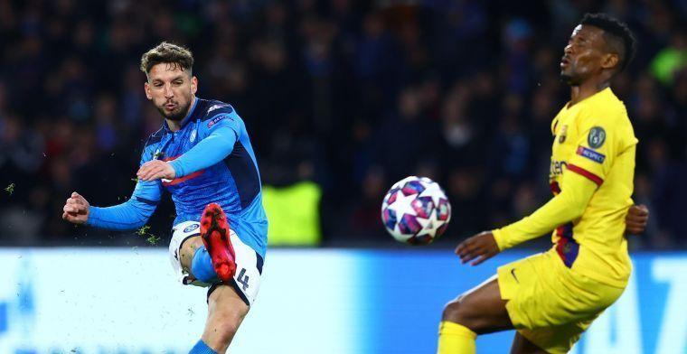 'Mertens hakt knoop door: clubliefde wint het van lucratieve Inter-move'