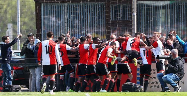 Jong Feyenoord kent zeven tegenstanders in nieuwe Onder 21-competitie