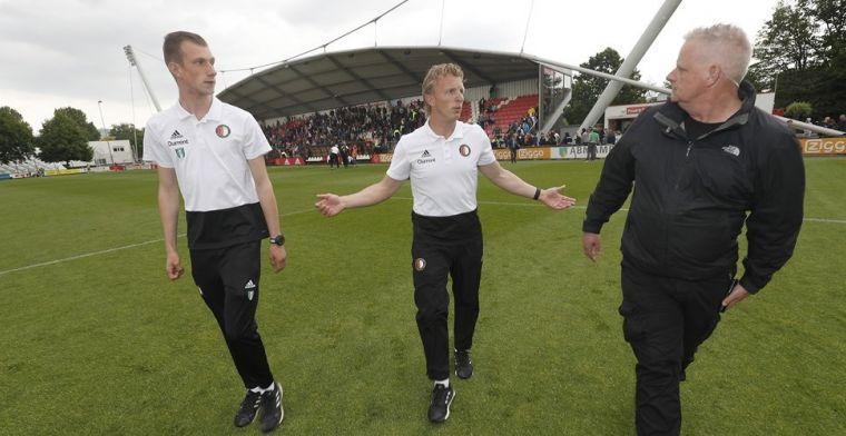 'Kuyt kan zich opmaken voor eerste klus als coach met kans op vaste aanstelling'