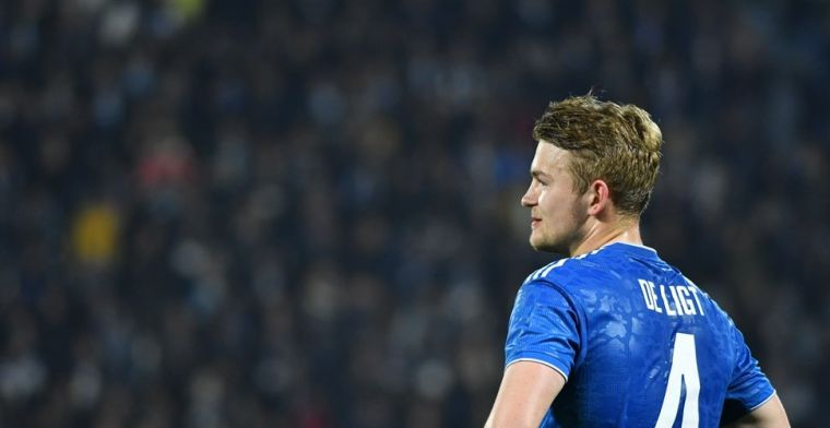 Juventus wijst bod van 74 miljoen euro op De Ligt af