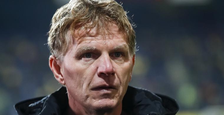 Groenendijk laat Roda schieten: 'Weet dat hij in principe op het buitenland wacht'