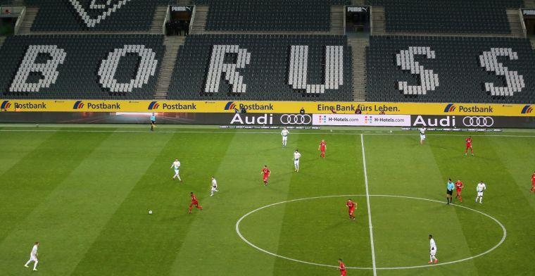 'Mönchengladbach laat stadion vollopen met kartonnen fans'