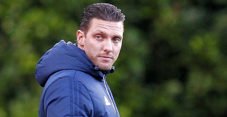 'Binnen vijf jaar wil ik in de staf van Feyenoord 1 komen, dan ben ik 38'