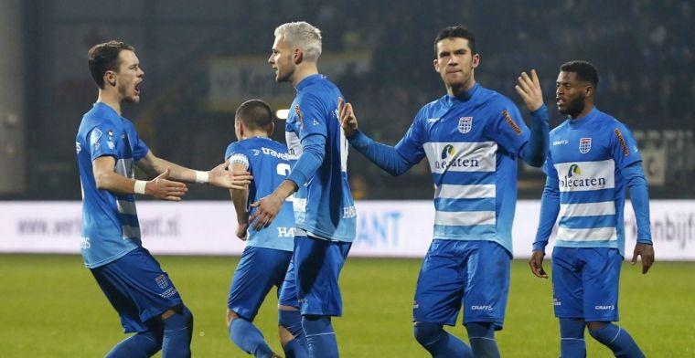 PEC Zwolle sluit seizoen af: kolderiek afscheid Thy, Johnsen en vier anderen