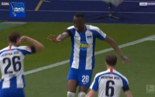 Hertha-spelers hebben lesje geleerd en proberen nu wél afstand te houden na goals