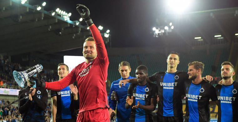 """Mignolet: """"Toont aan dat Club Brugge vér voorop ligt op de concurrentie"""""""
