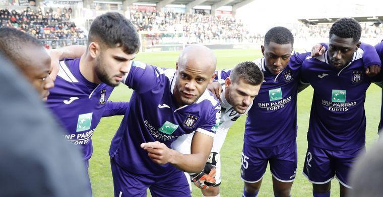 """Kompany komt met boodschap voor Anderlecht-fans: """"We moeten doorgaan"""""""