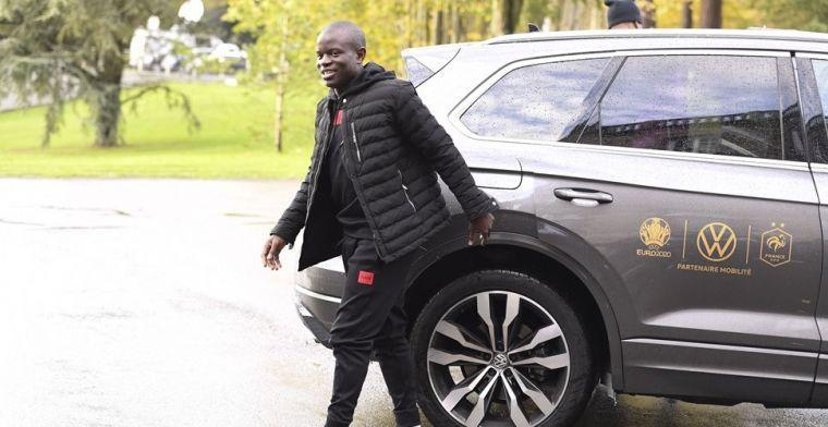 'Kanté mag zelf beslissen of hij dit seizoen nog in actie komt voor Chelsea'