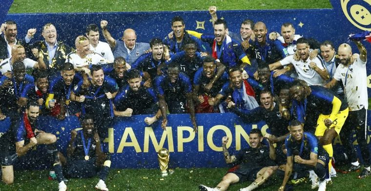 Franse international stuurt WK 2018-medaille naar de veiling