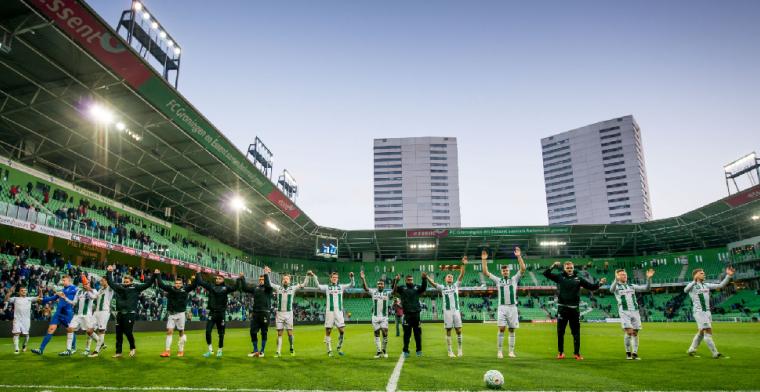FC Groningen bekrachtigt overeenkomst met spelers: 'Daad bij het woord'