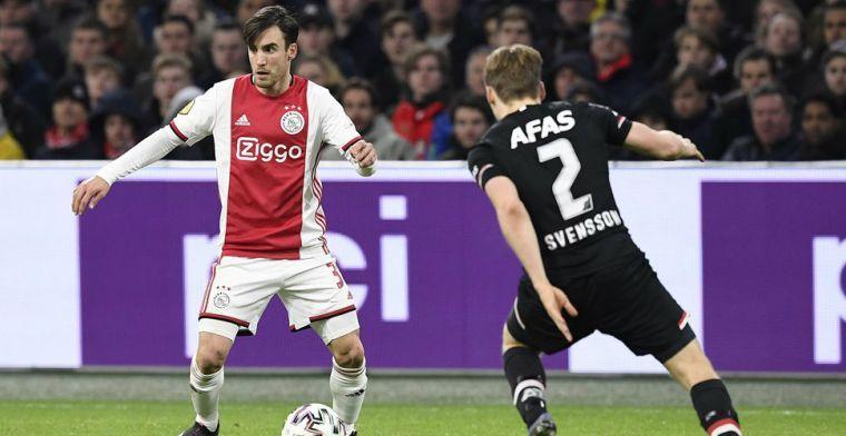 'Dat Tagliafico het nu zo goed doet bij Ajax, vervult me met trots'