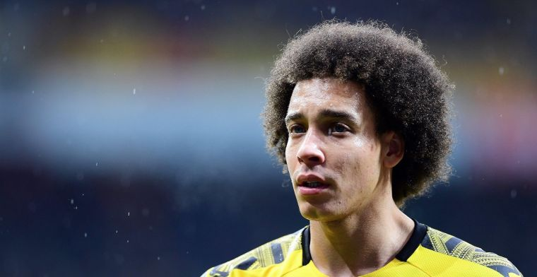 'Blessure blijft duren: Nog altijd geen Witsel bij Borussia Dortmund'